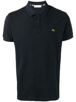 Etro рубашка-поло с логотипом 1Y1409480