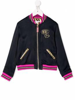 Little Marc Jacobs двухсторонняя куртка-бомбер W16099T78
