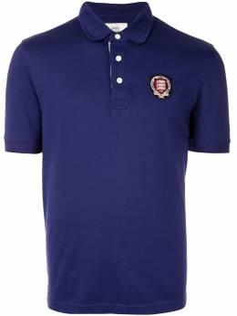 Kent & Curwen рубашка-поло с вышитым логотипом K39H9TM140