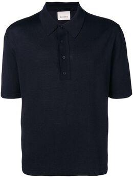 Laneus однотонная рубашка-поло MGU1246