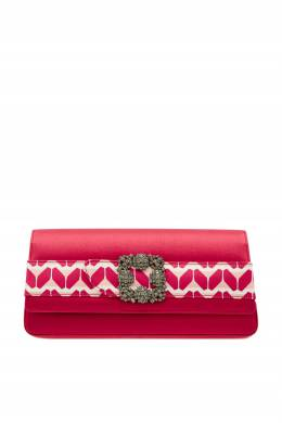 Розовый клатч Gothisi Cosmo Manolo Blahnik 166124146