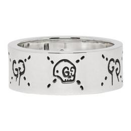 Gucci Silver GucciGhost Ring 192451M14700601GB