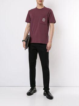 Cerruti 1881 футболка с нагрудным карманом C3970EI20078