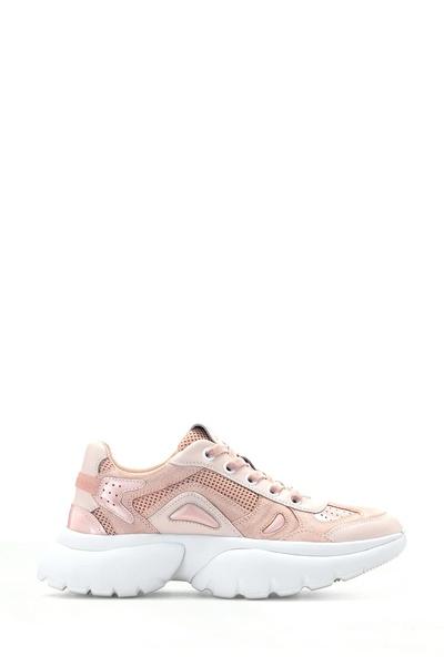 Розовые кроссовки с толстой подошвой Maje 888125141 - 1