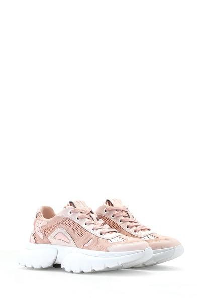 Розовые кроссовки с толстой подошвой Maje 888125141 - 2