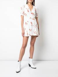 Reformation - Lucky wrap dress 36399566399800000000 - 2