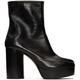 Maison Margiela Black Platform Tabi Boots S39WU0138 P1944