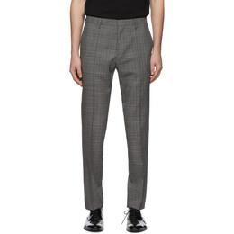 Boss Grey Genesis4 Trousers 192085M19100502GB