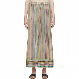 Missoni Multicolor Striped Lounge Pants MMI00011 BR001K.