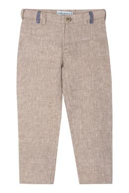 Льняные брюки с подворотами Yudashkin Kids 2822128357