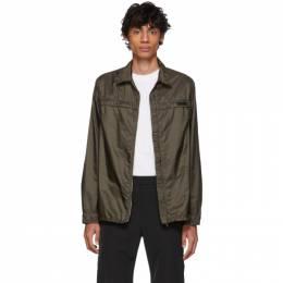Prada Khaki Nylon Jacket 192962M18000602GB