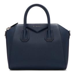 Givenchy Blue Small Antigona Bag 192278F04601501GB