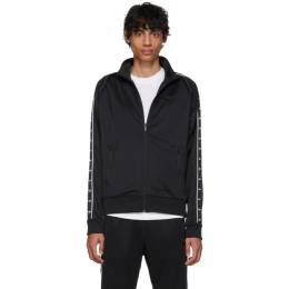 Nike Black Swoosh Tape Zip-Up Sweater AR3139