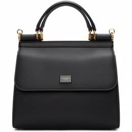 Dolce & Gabbana Black Small Sicily 58 Bag 192003F04600501GB