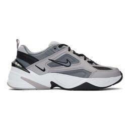 Nike Grey M2K Tekno Sneakers 192011M23703005GB