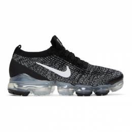Nike Black and White Air Vapormax Flyknit 3 Sneakers 192011M23705109GB