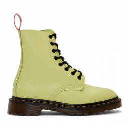 Undercover Yellow Dr. Martens Edition 1460 Boots 192414F11300201GB