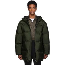 Prada Green Down Long Jacket 192962M17801002GB