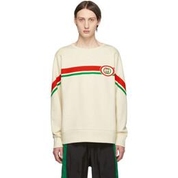 Gucci Off-White Interlocking G Sweatshirt 192451M20400206GB