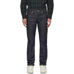 A.P.C. Indigo Petit Standard Jeans 192252M18600501GB