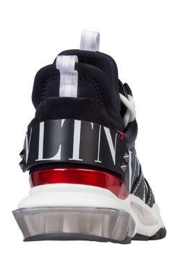 Комбинированные кроссовки Bounce Valentino 210132050