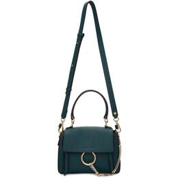 Chloe Navy Mini Faye Day Bag 192338F04700501GB