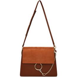 Chloe Brown Medium Faye Bag 192338F04801501GB