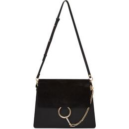 Chloe Black Medium Faye Bag 192338F04801601GB