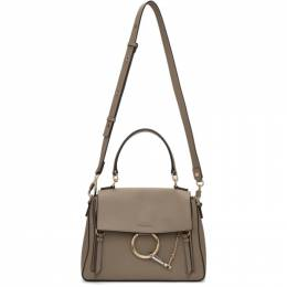 Chloe Grey Small Faye Day Bag 192338F04700101GB