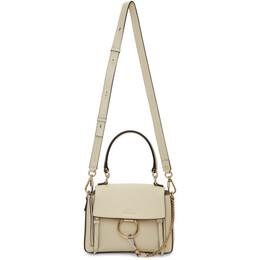 Chloe Off-White Mini Faye Day Bag 192338F04700401GB