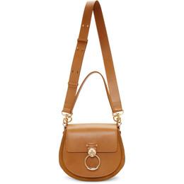 Chloe Brown Large Tess Bag 192338F04803401GB