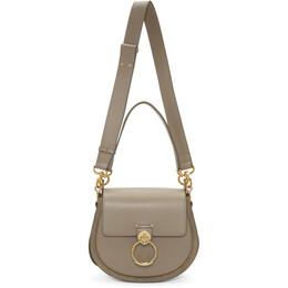 Chloe Grey Large Tess Bag 192338F04803501GB