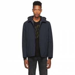 Herno Navy Packable Coaches Jacket 192829M18000206GB