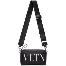 Valentino Black Valentino Garavani VLTN Crossbody Bag 192476M17000101GB