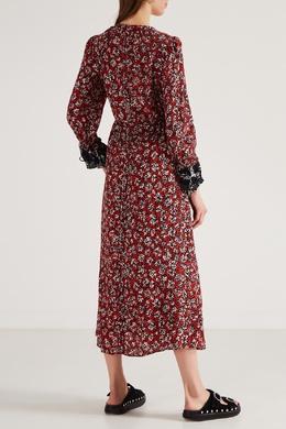 Платье-макси с цветочными принтом Dorothee Schumacher 1512132802