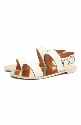 Кожаные сандалии Edlyn Ralph Lauren 800745281/002