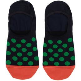 Paul Smith Three-Pack Multicolor Polka Dot No Show Socks 192260M22003701GB