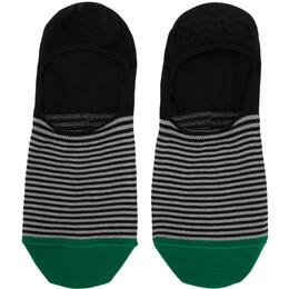Paul Smith Multicolor Mini Stripe No Show Socks 192260M22003301GB