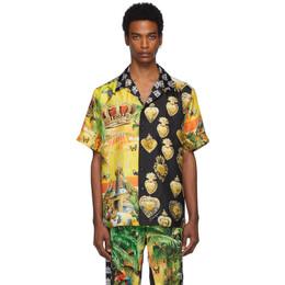 Dolce & Gabbana Multicolor Mix Hawaii Shirt 192003M19201404GB