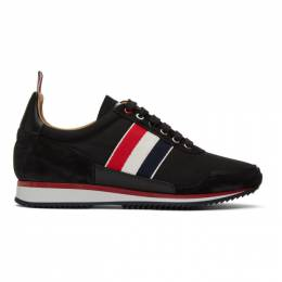 Thom Browne Black Jogger Sneakers MFD128A-05585
