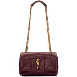 Saint Laurent Red Small Jamie Bag 192418F04805001GB