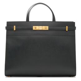 Saint Laurent Grey Small Manhattan Bag 192418F04900401GB