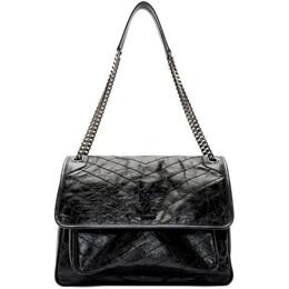 Saint Laurent Black Large Niki Bag 192418F04804201GB