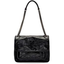 Saint Laurent Black Medium Niki Bag 192418F04804301GB