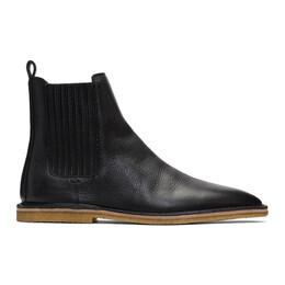 Saint Laurent Black Nino Chelsea Boots 588727 1FT00