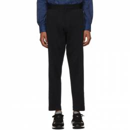 Etro Navy Active Formal Trousers 192267M19100406GB
