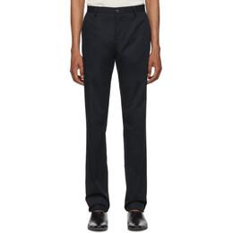 Etro Blue Flat Front Trousers 1P408 0329