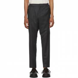 Etro Grey Active Formal Trousers 192267M19100802GB