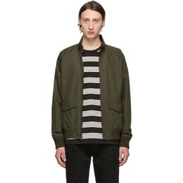 Frame Green Harrington Jacket 192455M18000105GB