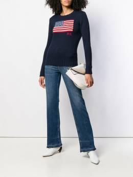 Polo Ralph Lauren джемпер с американским флагом 211750478001